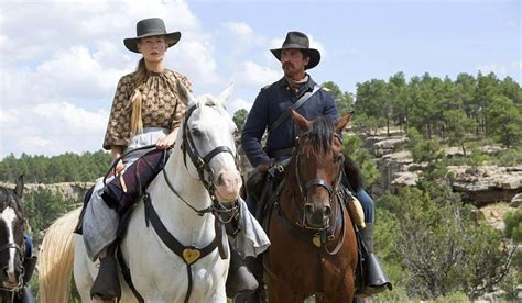 cowboy film modern rosamund pike and christian bale star in quot hostiles