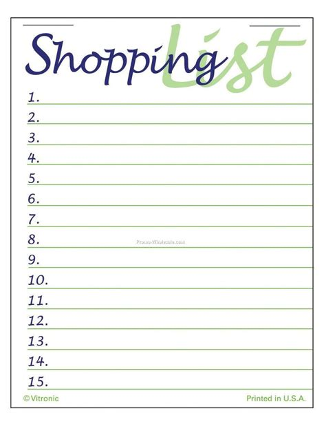 home shopping list template shopping list templates find word templates