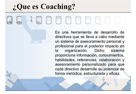 que es el couching coaching