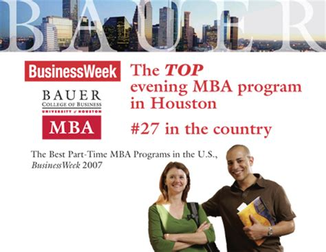 1 Mba Us News by Businessweek Ranks Bauer College No 1 Evening Mba Program