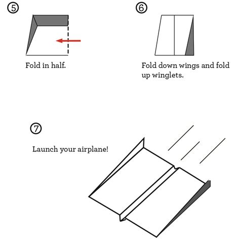 How To Make The Best Paper Airplane Step By Step - the world s best paper airplane explorabox