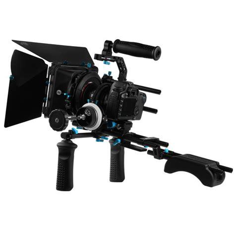 dslr rig support by mlmfoto aliexpress buy fotga dslr follow focus 15mm rod rail