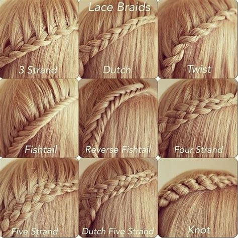 easiest type of diy hair braiding 25 best ideas about lace braid on pinterest simple