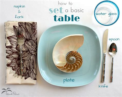 how to set table table setting basic crowdbuild for
