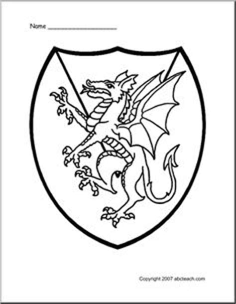 coloring page of a knight s shield game of thrones medieval fair at the library on pinterest