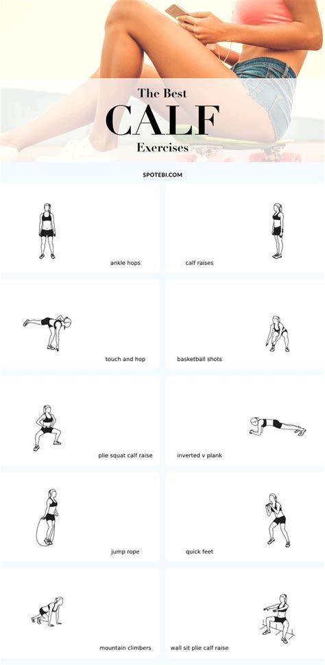best 25 calf exercises ideas on calves