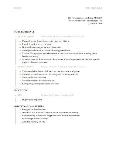 dishwasher resume sle cover letter dishwasher position 28 images sle