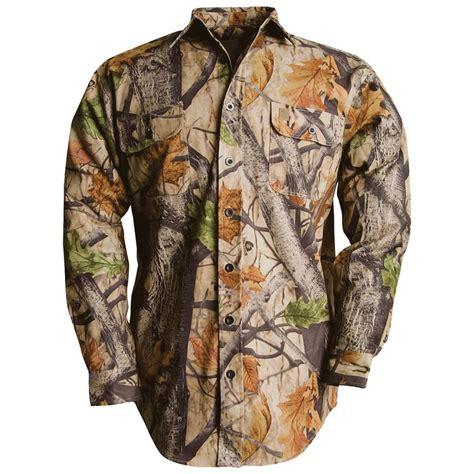 Camo Shirts Big Bill 174 Camouflage Twill Shirt 162839 Camo Shooting