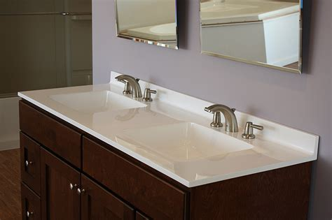 Bathroom Vanity Countertops Ideas by Vanity Tops Material To Consider For Your Bathroom