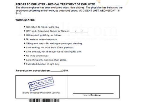 how do you get a doctors note for work give you doctor note templates to skip work or school by