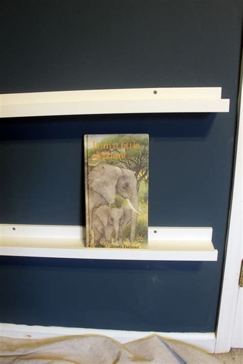 ikea book ledge ikea ribba book ledges for abe s new nursery