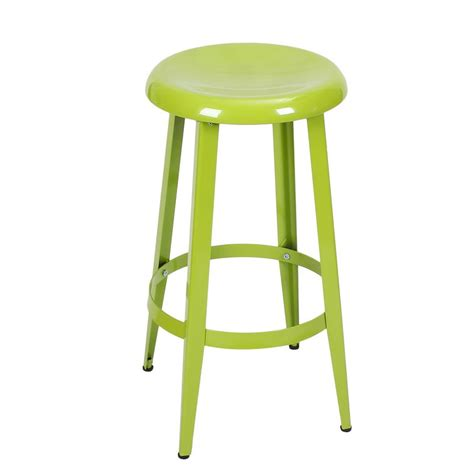 Bar Stools 26 Inches by Adeco Green 26 Inch Metal Counter Stools Single Ch0226 2