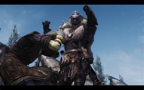 skyrim hothtrooper44 armor extra 220 bersetzung trollsbane armor and weapon dv