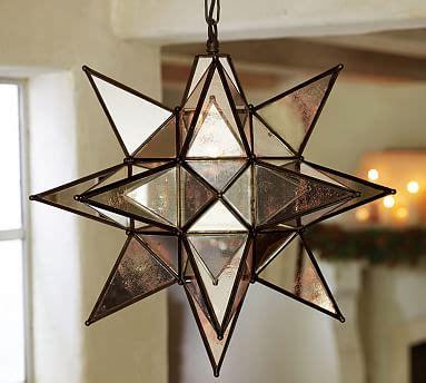 moravian star light set oversized morovian pendant pottery barn