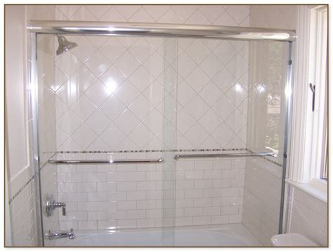 alternatives to glass shower doors window pane shower door