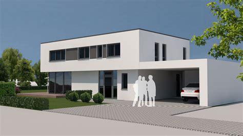 flachdachhaus modern neubau modernes flachdachhaus mit carport in wei 223 enburg