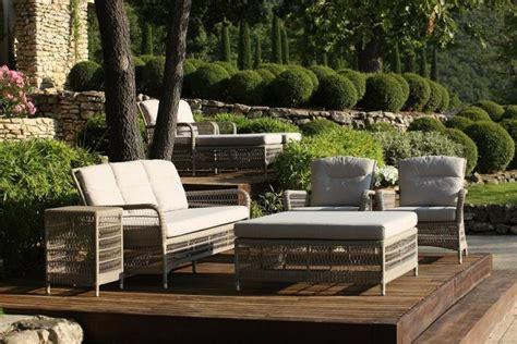 terrasse lounge mobilier de jardin lounge en 25 photos fascinantes