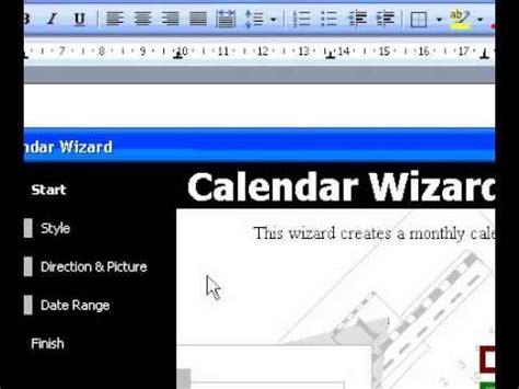 how to make a calendar on word 2003 microsoft office word 2003 create a calendar