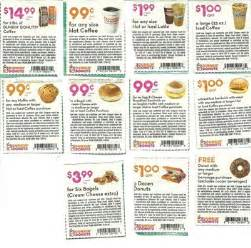 Dunkin Donuts Print Coupons   Coupon Codes Blog