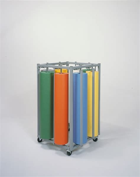 Eight Rack by Eight Roll Square Vertical Rack Bulman Products