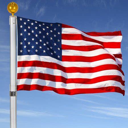 ktaxon outdoor flagpole  aluminum flag pole outdoor