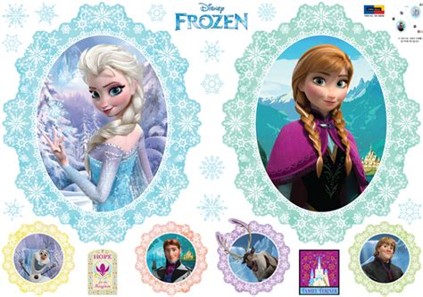 Yellow Color Home Design by Disney Frozen Elsa And Anna Wall Stickers Wallstickery Com