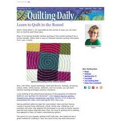 Quilting Daily by Free Motion Quilting Pearltrees