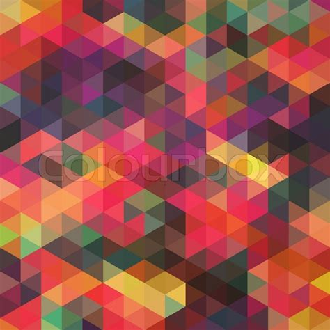 Rok Motip Square Flow pattern of geometric shapes rhombic texture with flow of spectrum effect geometric background