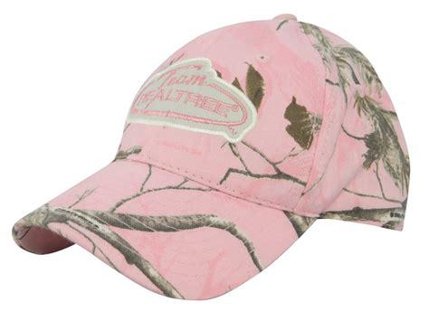 team realtree s logo cap cotton realtree ap pink camo