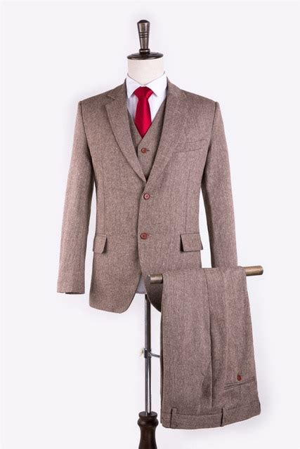 light colored tuxedos light brown 3 suit