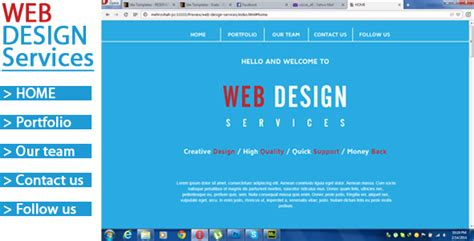 Web Design Services Adobe Muse Website Template Themes Codegrape Web Service Specification Template