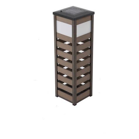 decorative solar lantern allen roth 24 in h aluminum outdoor decorative lantern