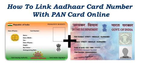 how to make pan card how to link aadhaar card number with pan card