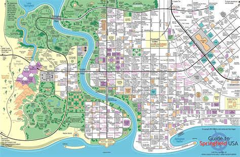Home Design Center Louisiana by A Full Map Of Springfield The Simpsons Fan Art 2282738