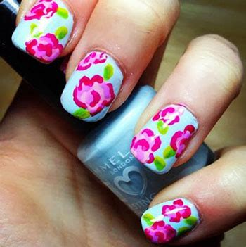 simple nail art designs 2014 simple easy flower nail art designs ideas 2013 2014