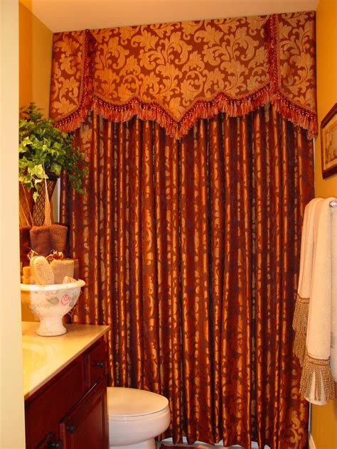 bathroom interesting shower curtains  valance