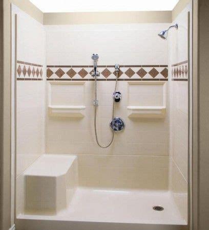 bathtub and shower kits shower stall kits corner tub and bathroom on pinterest