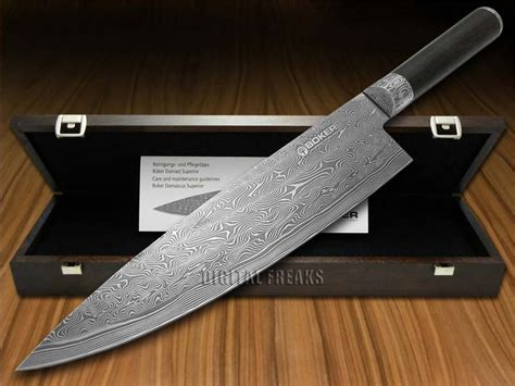 boker tree brand superior damascus kitchen cutlery