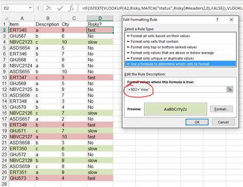 format excel row based on column value excel 2013 highlight table row based on column value