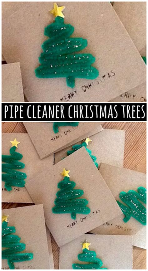 image gallery tree crafts pipe cleaner christmas tree craft for cards by