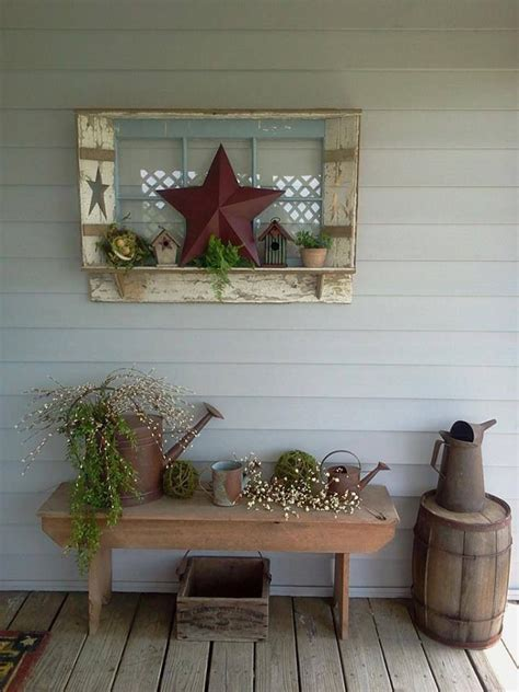 Primitive Outdoor Decor by 25 Best Ideas About Vintage Outdoor Decor On