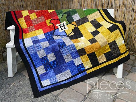 Gryffindor Comforter by Harry Potter Inspired Hogwarts House Quilt Blanket