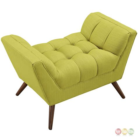 Tufted Upholstered Ottoman Response Contemporary Button Tufted Upholstered Ottoman Wheatgrass