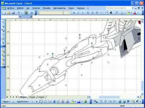 how to draw doodle using excel drawing in microsoft excel