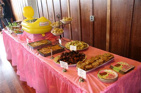 baby shower food ideas baby shower food buffet ideas