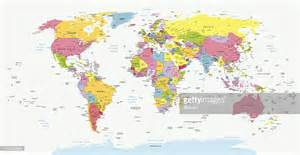 political world map vector getty images