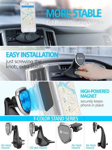 amazoncom car phone holder  color cd slot car mount
