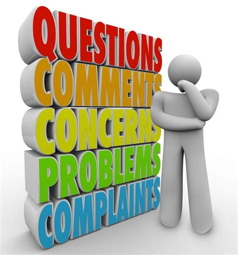 Or Free Questions Or Comments Clipart
