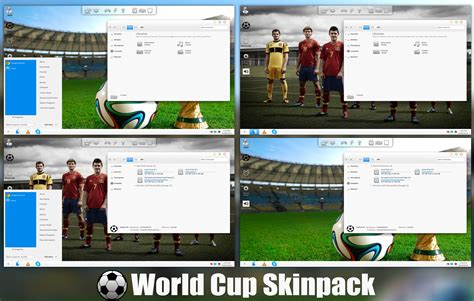 download themes for windows 7 2014 fifa world cup 2014 skinpack for windows 7 8 8 1 by