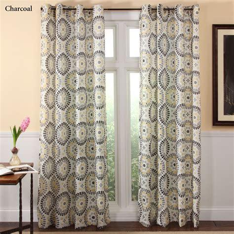 curtain medallions melina medallion grommet curtain panels